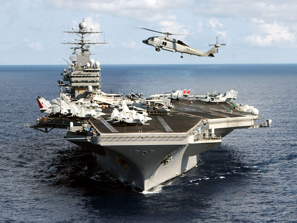 sports Aircraft Carrier Wallpapers 1024x768