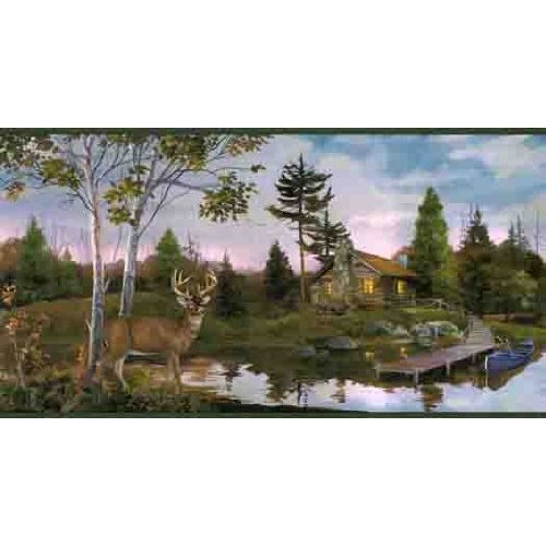 Deer Hunting Wallpaper Border 500x500