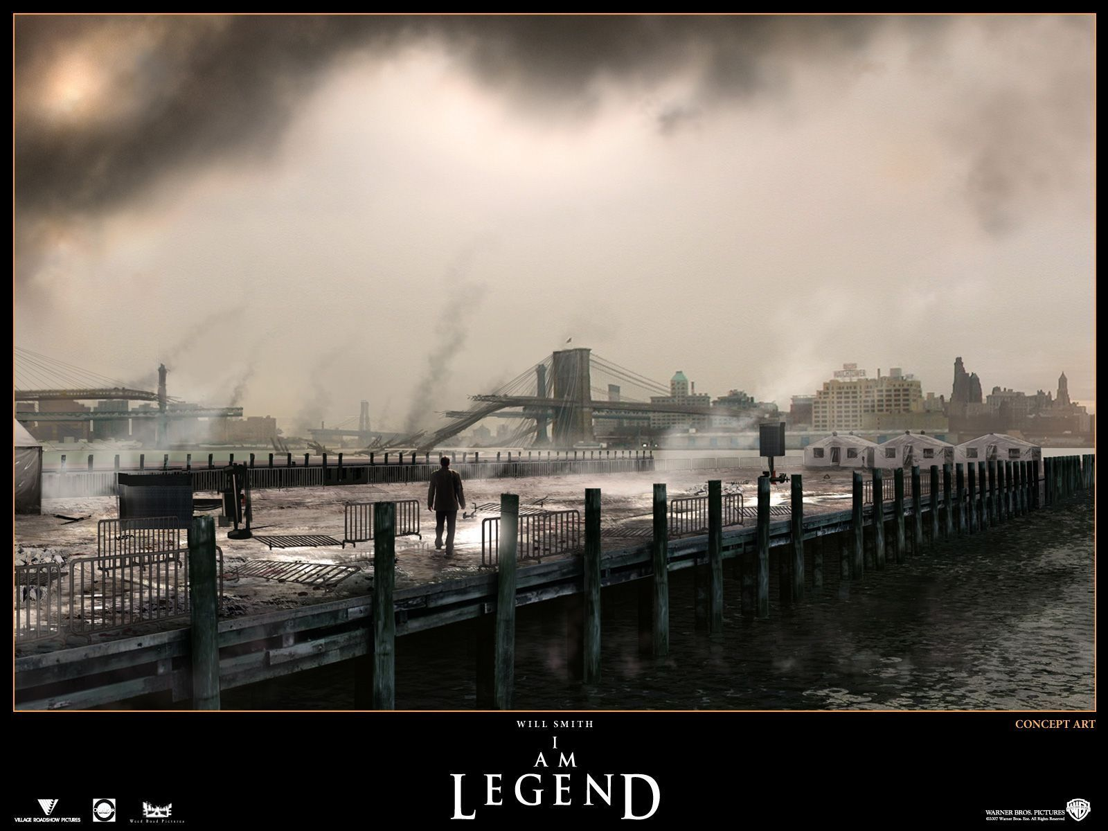 Am Legend  Concept Art   I Am Legend Wallpaper 2088926 1600x1200