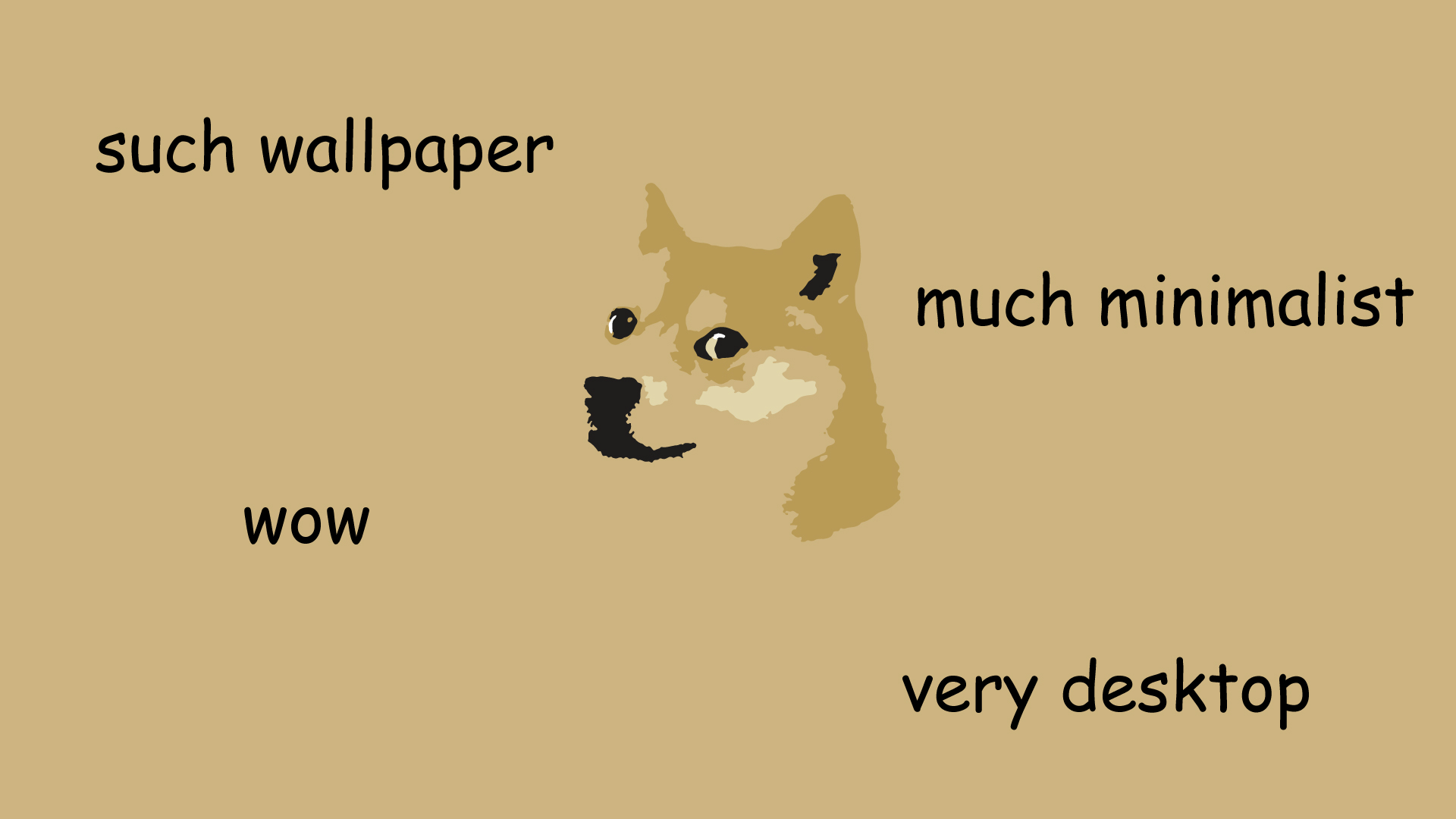 Doge Meme Wallpaper Quality Images iPhoto Pick 1920x1080