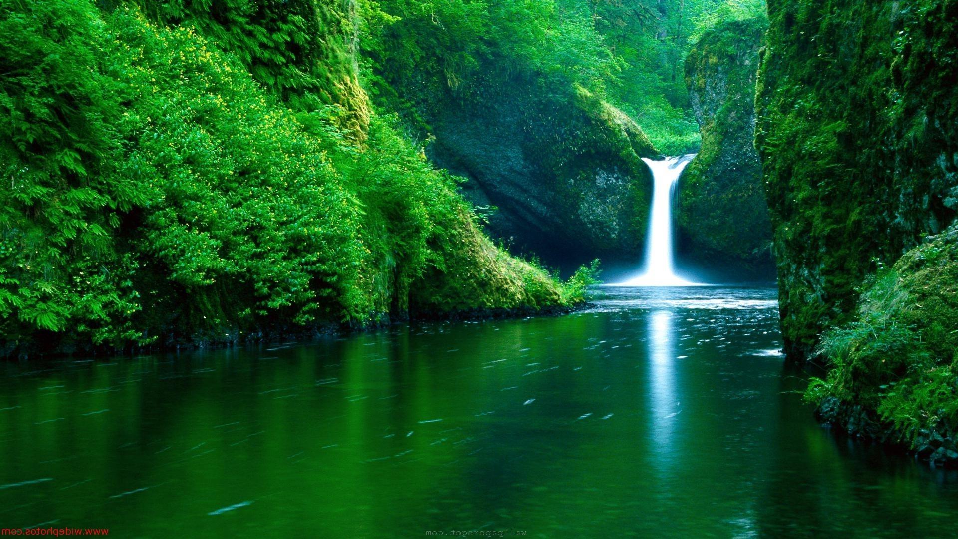 природа водопад  № 394154  скачать