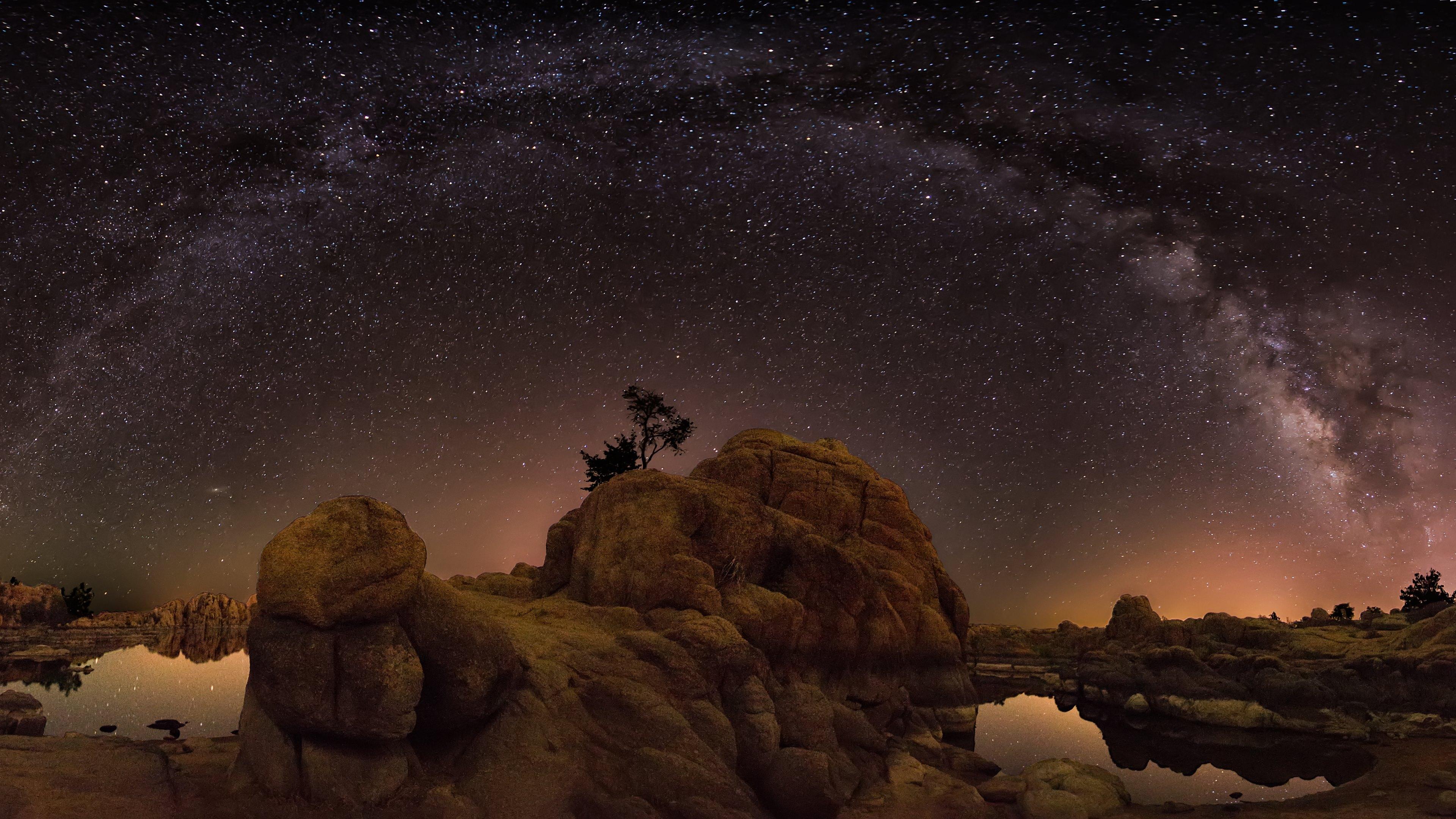 Milky Way 2014 Wallpapers HD Wallpapers 3840x2160