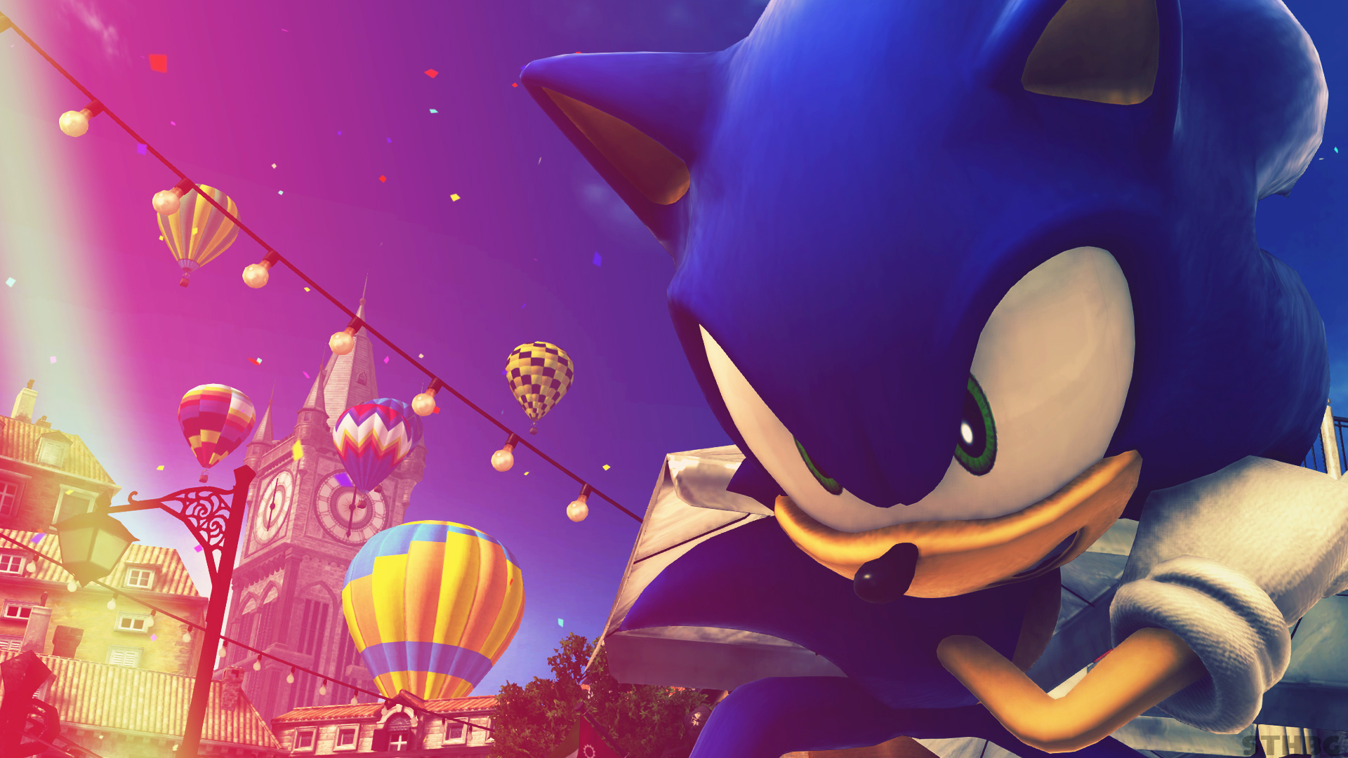 Free Download Sonic The Hedgehog Wallpaper By Sonicthehedgehogbg