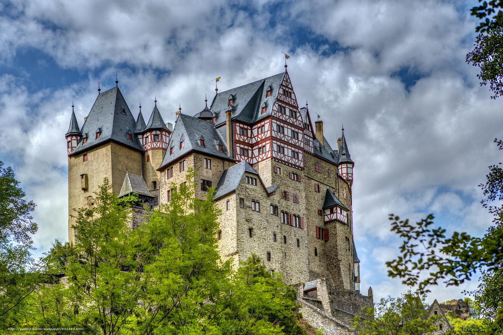 wallpaper Burg Eltz Castle Wierschem desktop wallpaper 1600x1064