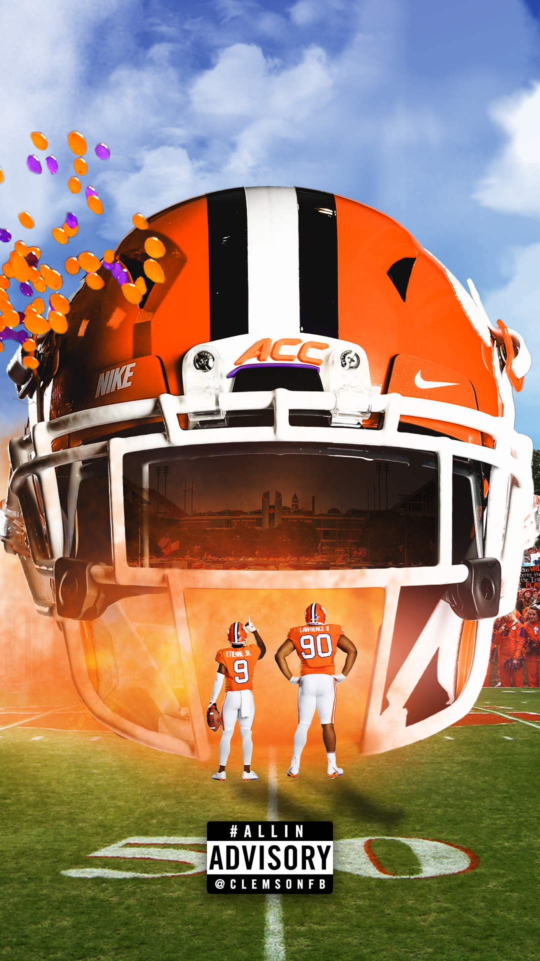 Phone Wallpapers Clemson Tigers Official Athletics Site 1080x1920
