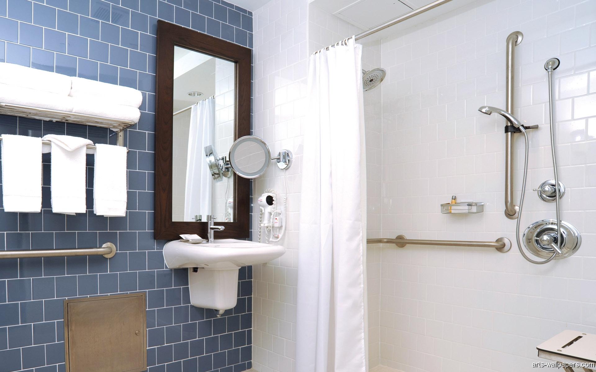 Bathroom Wallpaper Desktop Wallpaper Background 1920x1200 1920x1200