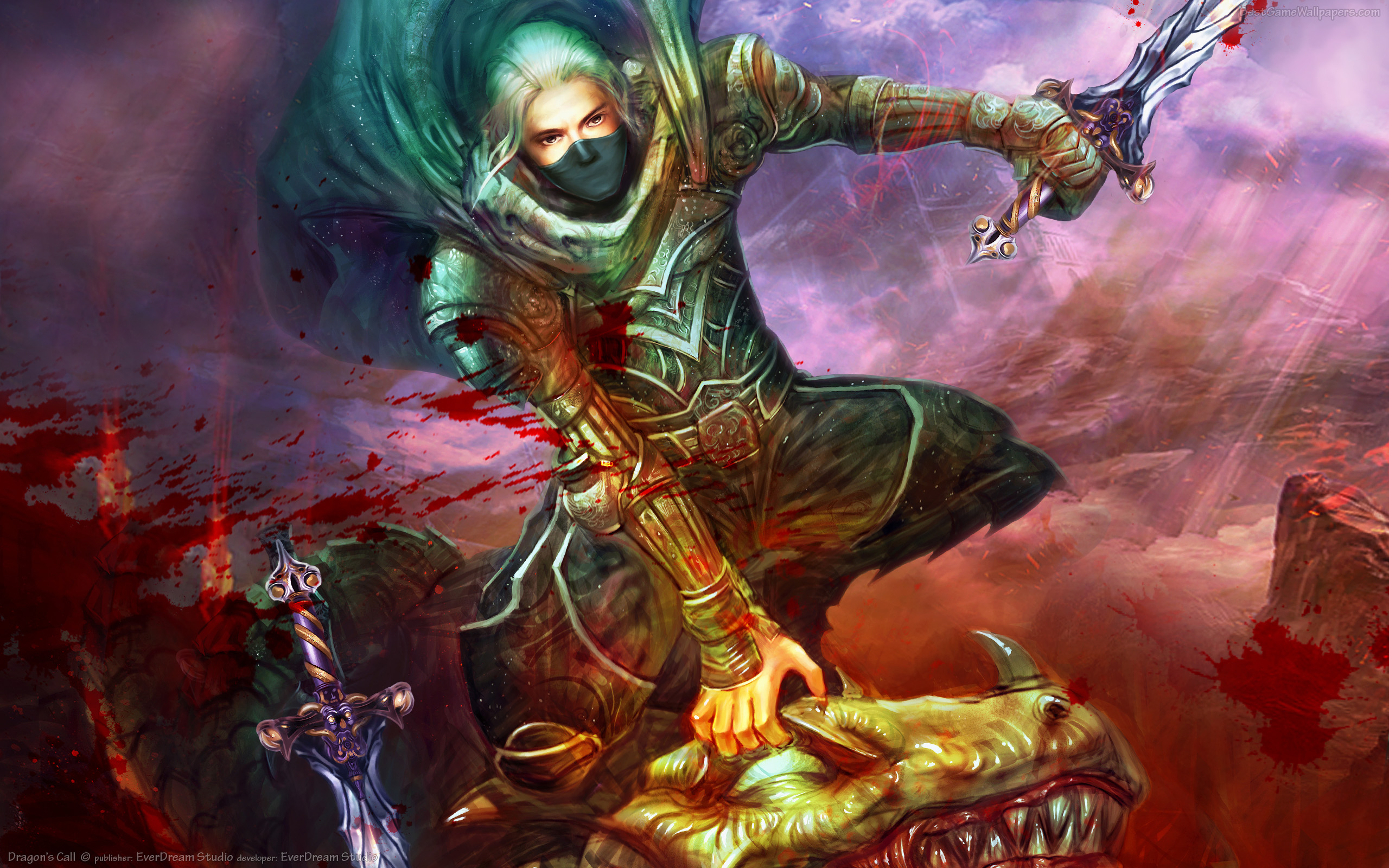 Dragon Slayer bestgamewallpaperscom 2560x1600