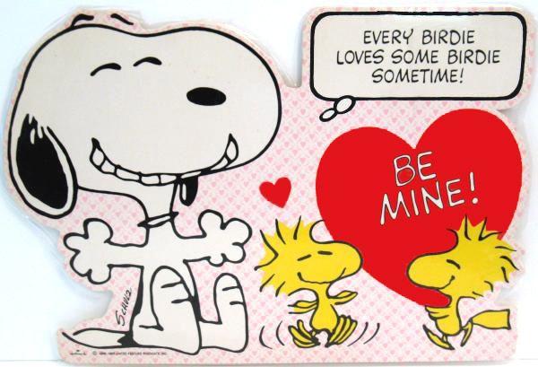 Laminated Snoopy Valentines Day Wall Decor Snoopn4pnutscom 600x409