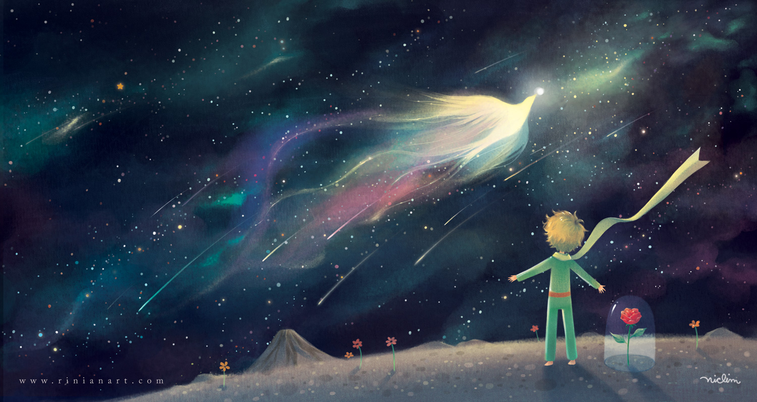 the little prince android wallpaper