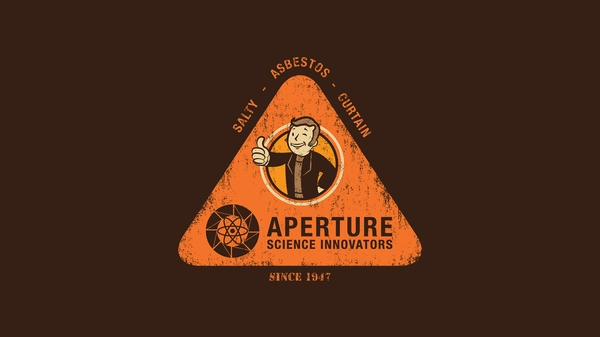 funny artwork aperture laboratories portal 2 Funny Wallpapers 600x337