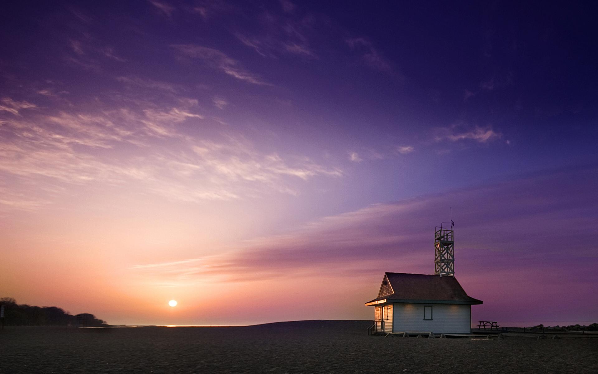Florida Beach Sunset HD Wallpaper | HD Desktop Wallpaper