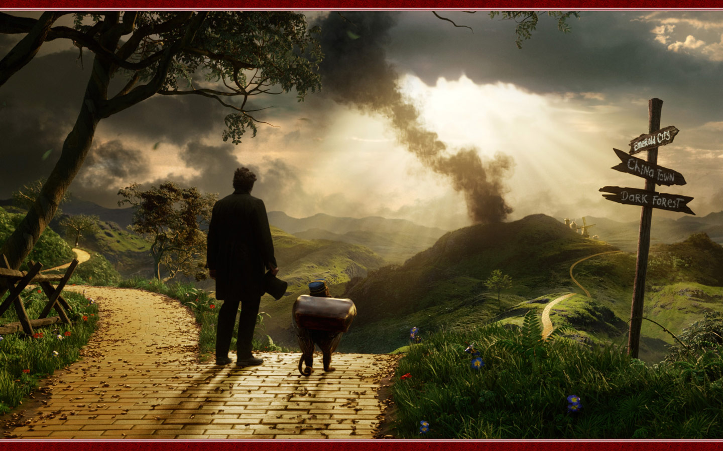 Oz The Great And Powerful Movie computer desktop wallpapers 1440x900