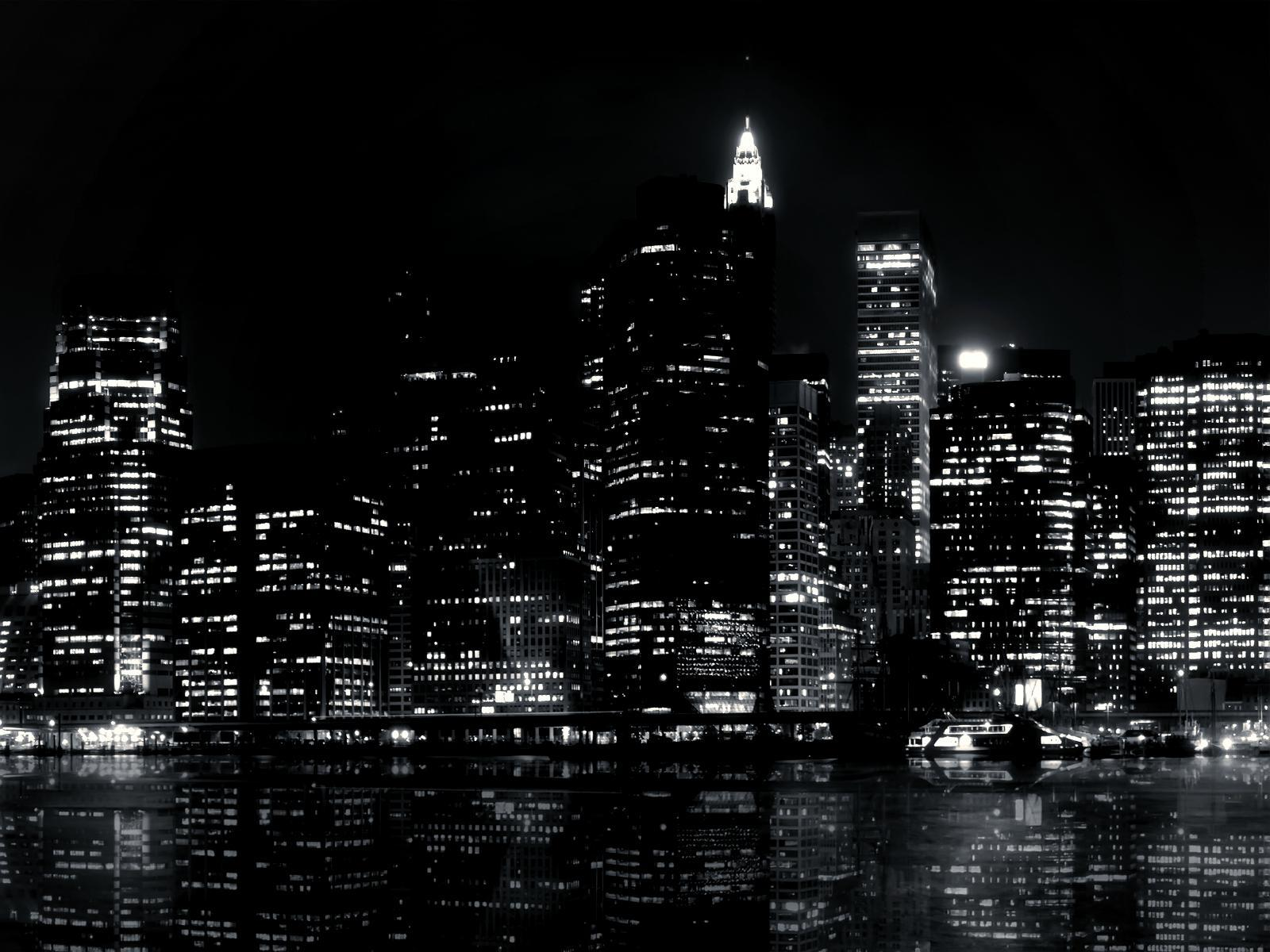 Black And White City Wallpapers 1600x1200