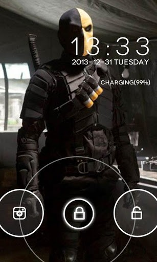 View bigger   Deathstroke GO Locker for Android screenshot 307x512