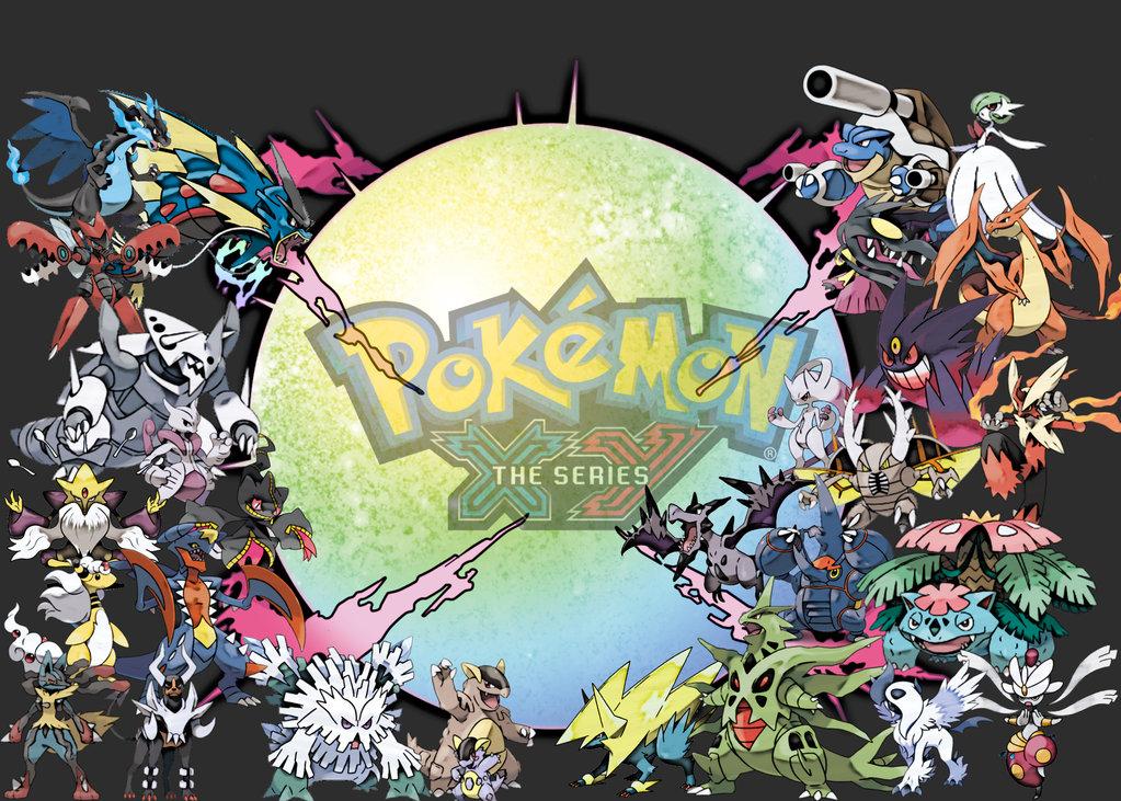 pokemon mega evolutions wallpaper wallpapersafari
