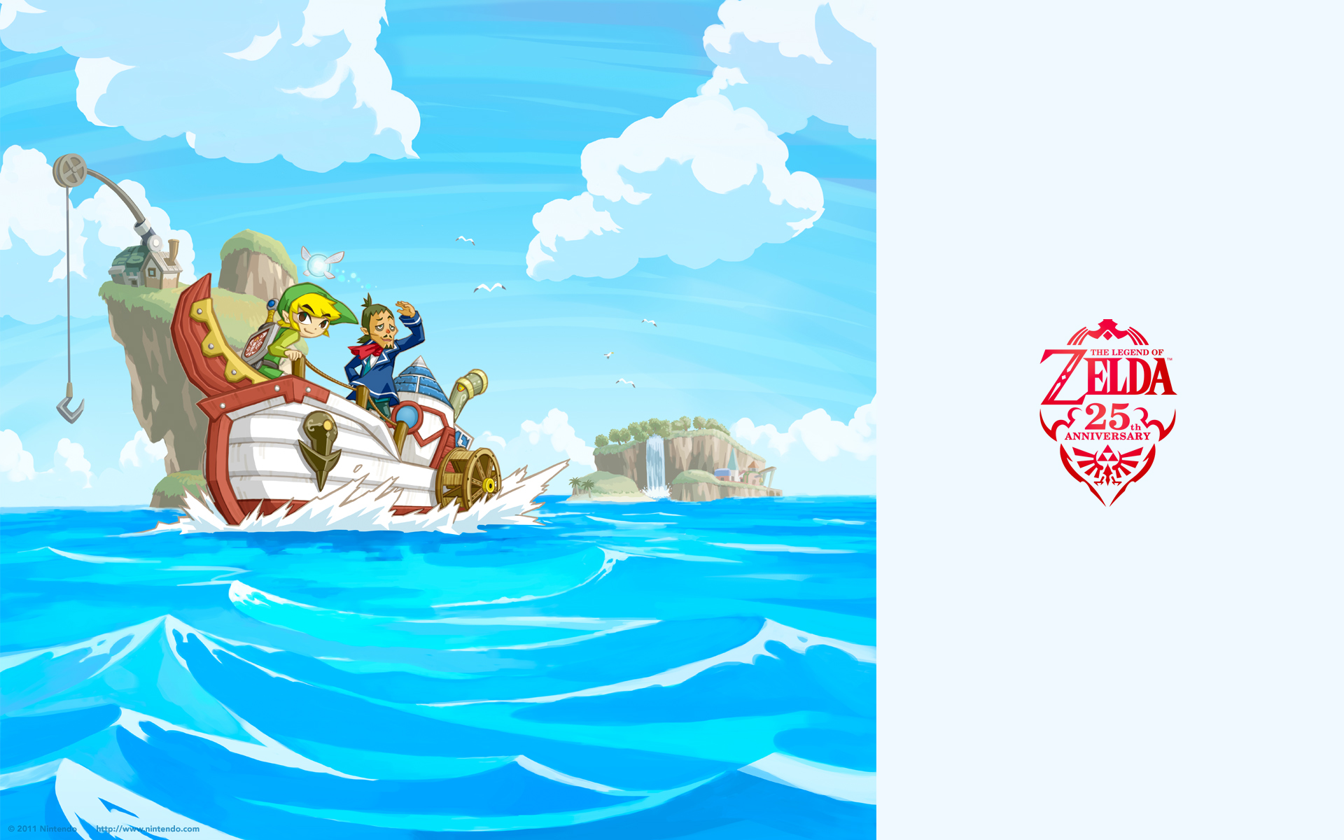 25th anniversary wallpapers   Toon Link Wallpaper 24925106 1920x1200