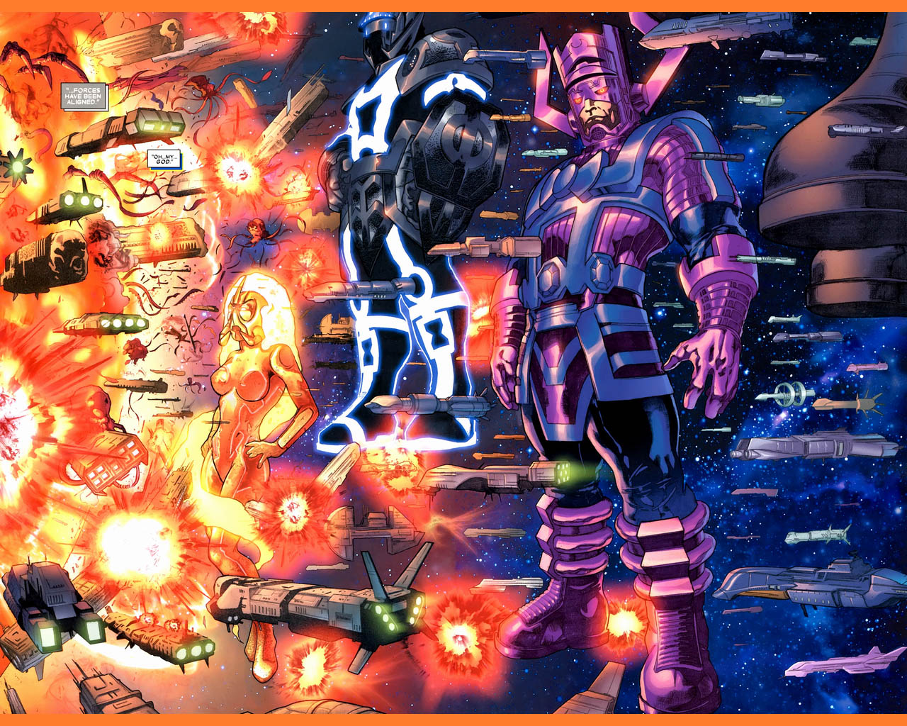 Comics   Galactus Wallpaper 1280x1024