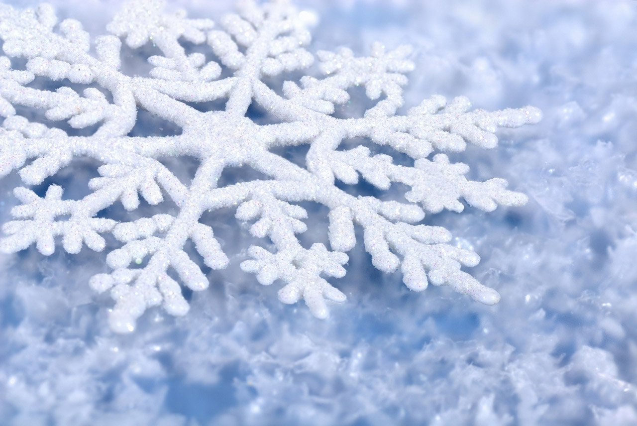 Winter Snowflake Wallpaper 1280x856