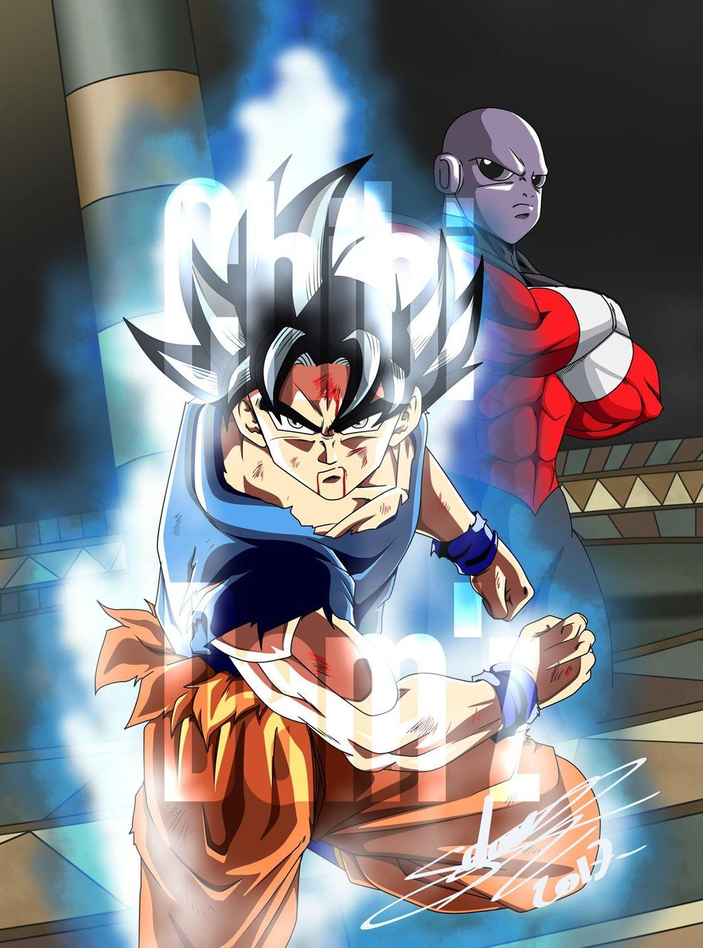 Goku Ultra Instinct Wallpapers 1024x1381