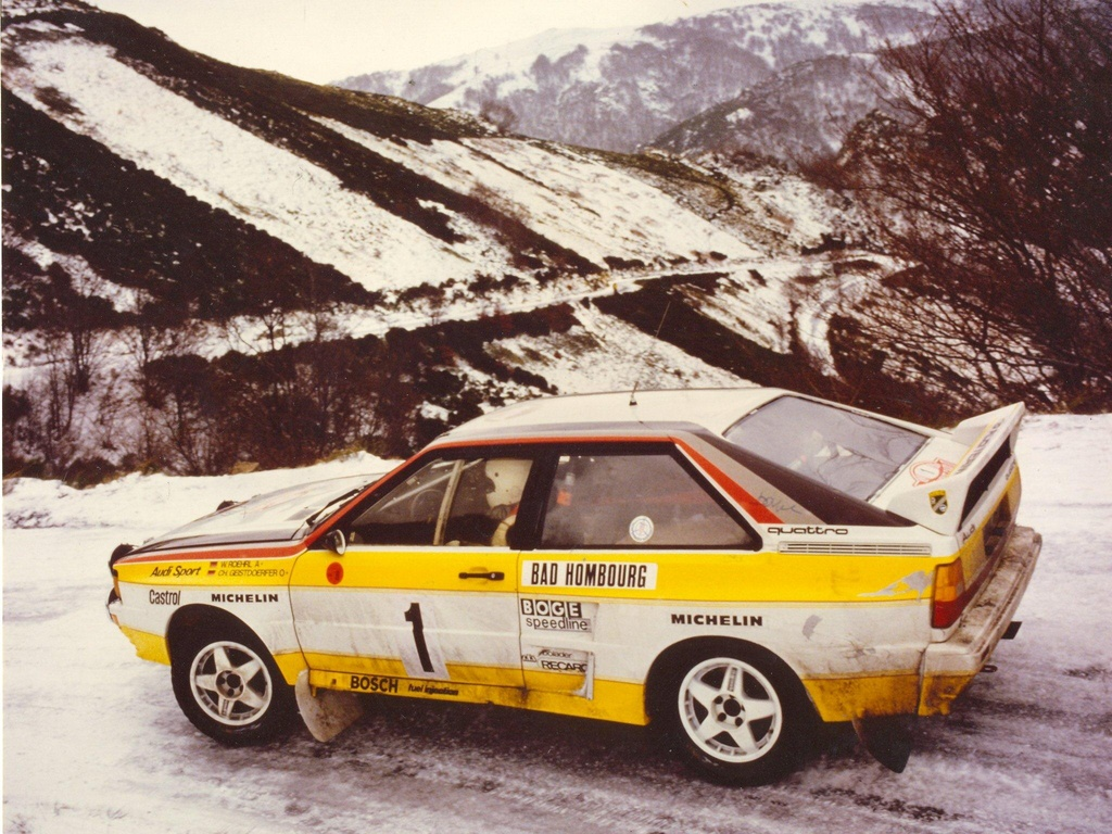 Audi Quattro Group B Rally Car Wallpapers Cool Cars Wallpaper 1024x768