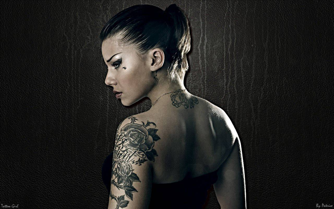 Tattoo Girl Tattoo Girl wallpaper 1280x800