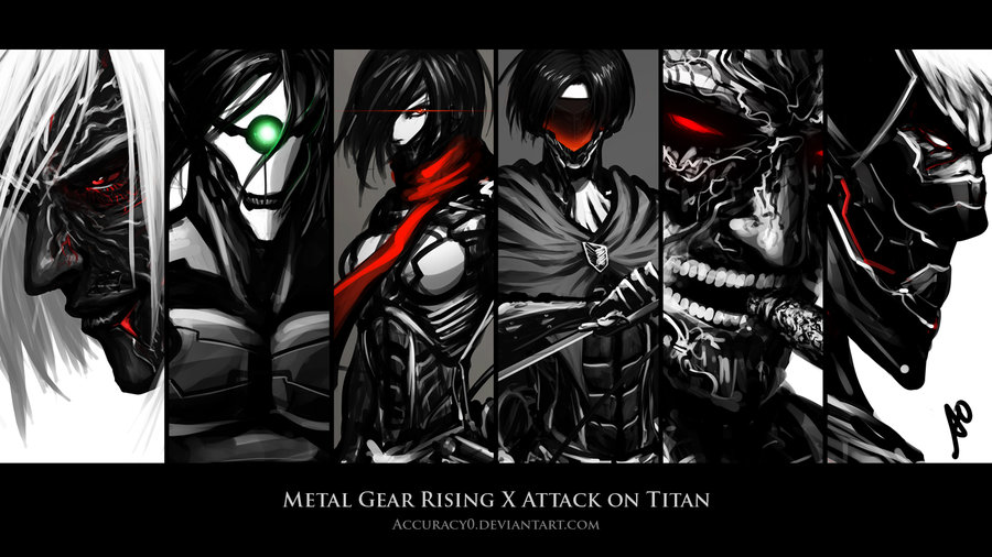Gear Rising X Attack on Titan Wallpaper by Accuracy0 900x506