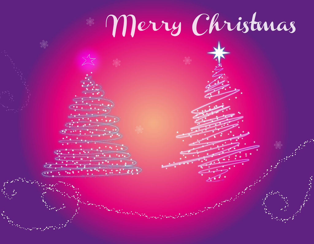 Pink Christmas Background Wallpapers9 1024x794