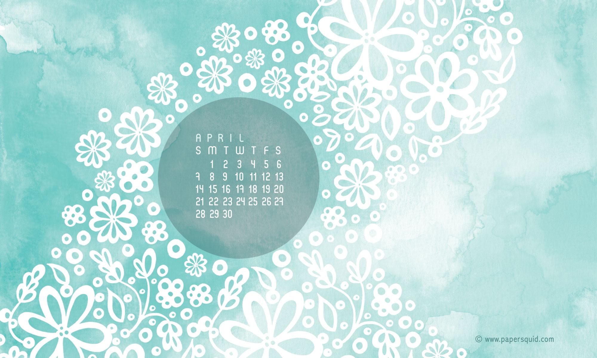 Paper Squid Aprils Desktop Wallpaper 2000x1200