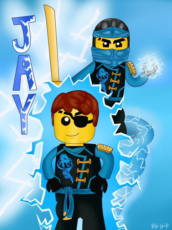 Ninjago Wallpaper Jay For Kids