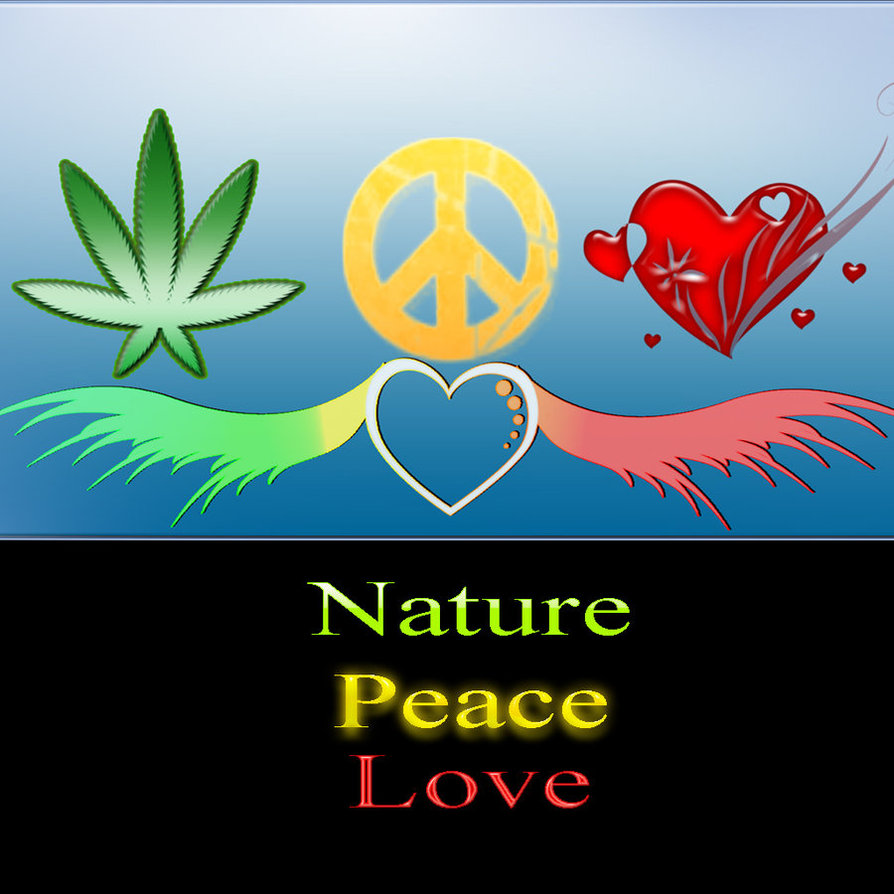 Wallpaper Of Peace: Love And Peace Wallpaper