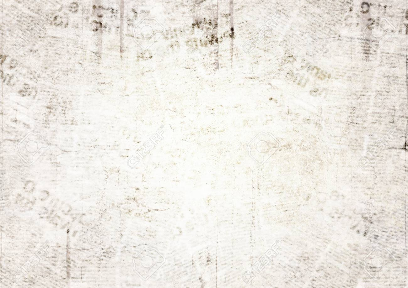 Vintage Grunge Newspaper Paper Texture Background Blurred Old 1300x919