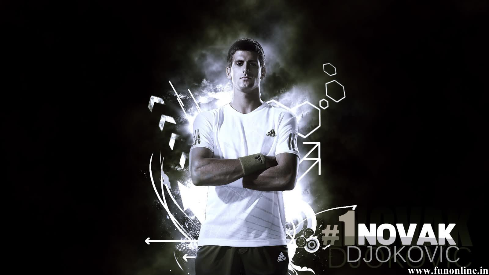 Djokovic Wallpapers Download Novak Djokovics HD Wallpaper 1600x900
