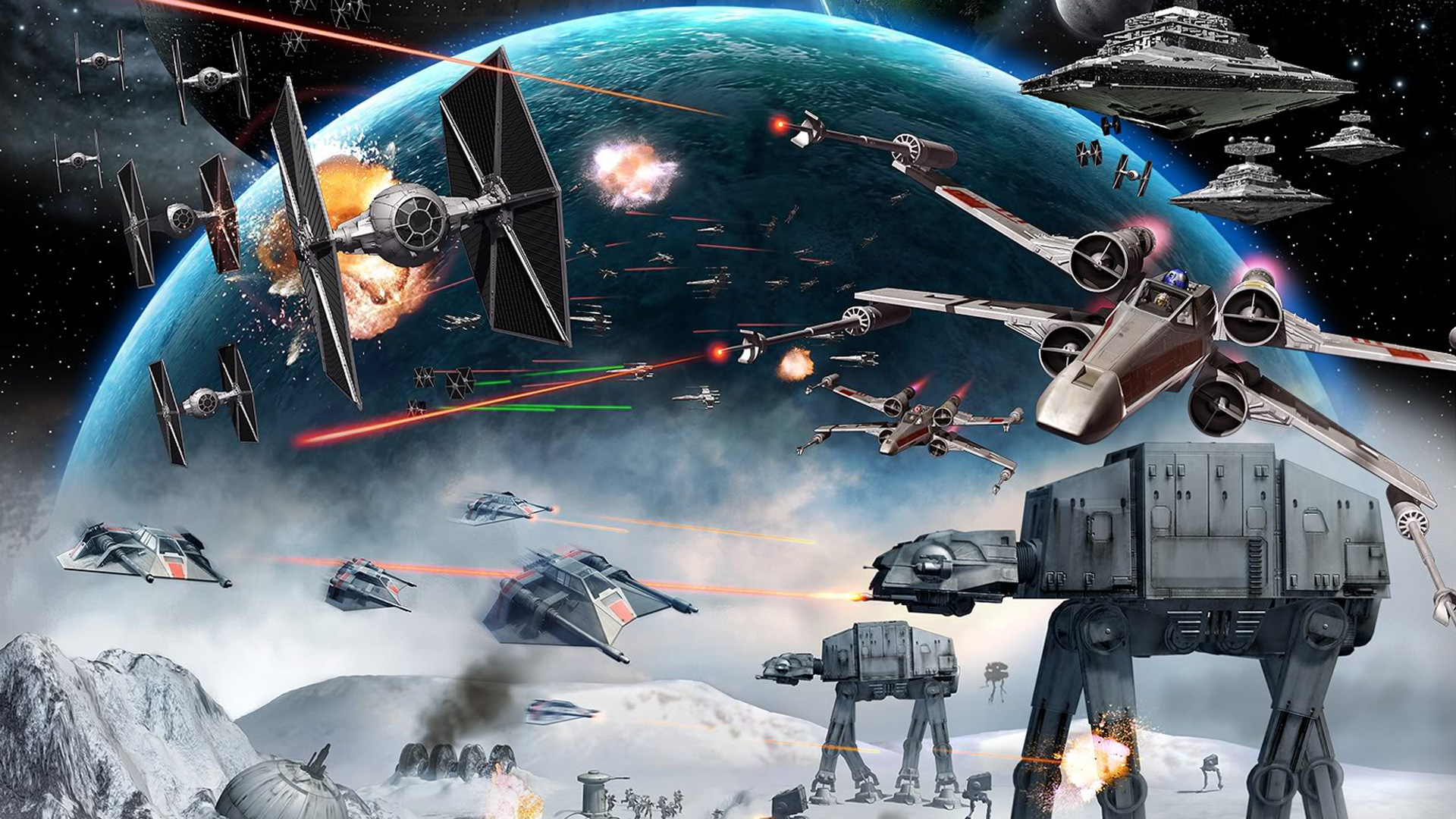 FizX Entertainment Huge Star Wars Wallpapers Collection 1920x1080