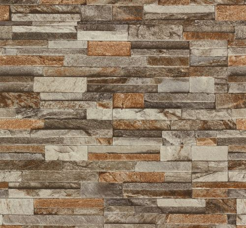 Sarah Interiors Stone Brown Beige WALLPAPERS and WALLPAPERS 500x462