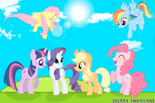 my little pony fim little wallpaper by zozi664 d4k461vjpg 600x400