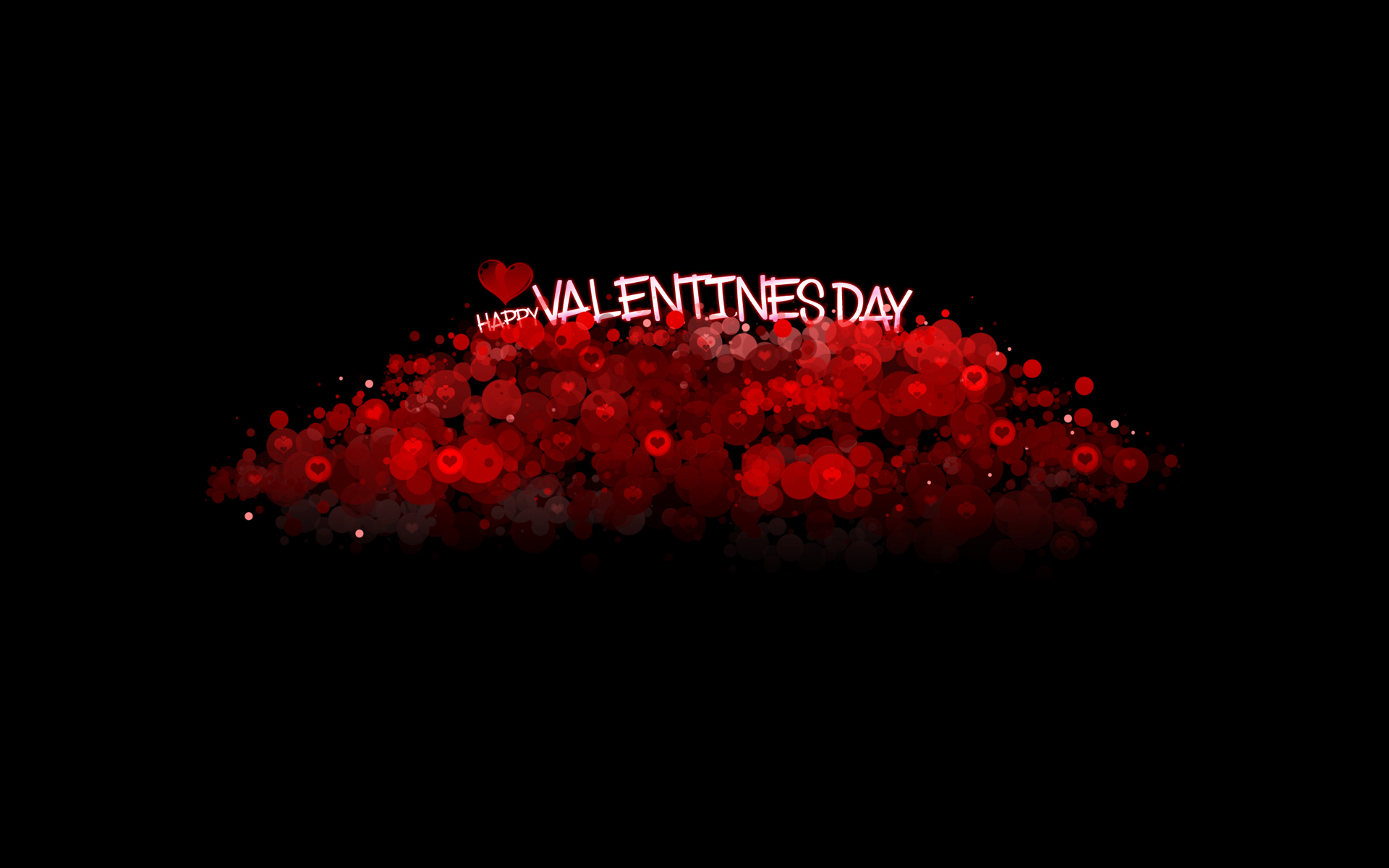 17 Red Heart Valentines Day wallpaper 1920x1200