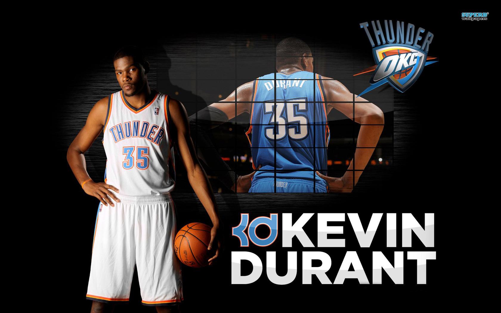 Kevin Durant Dunk Wallpaper 1680x1050