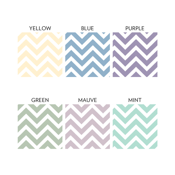 Chevron Stripes Removable Wallpaper Tile 600x600