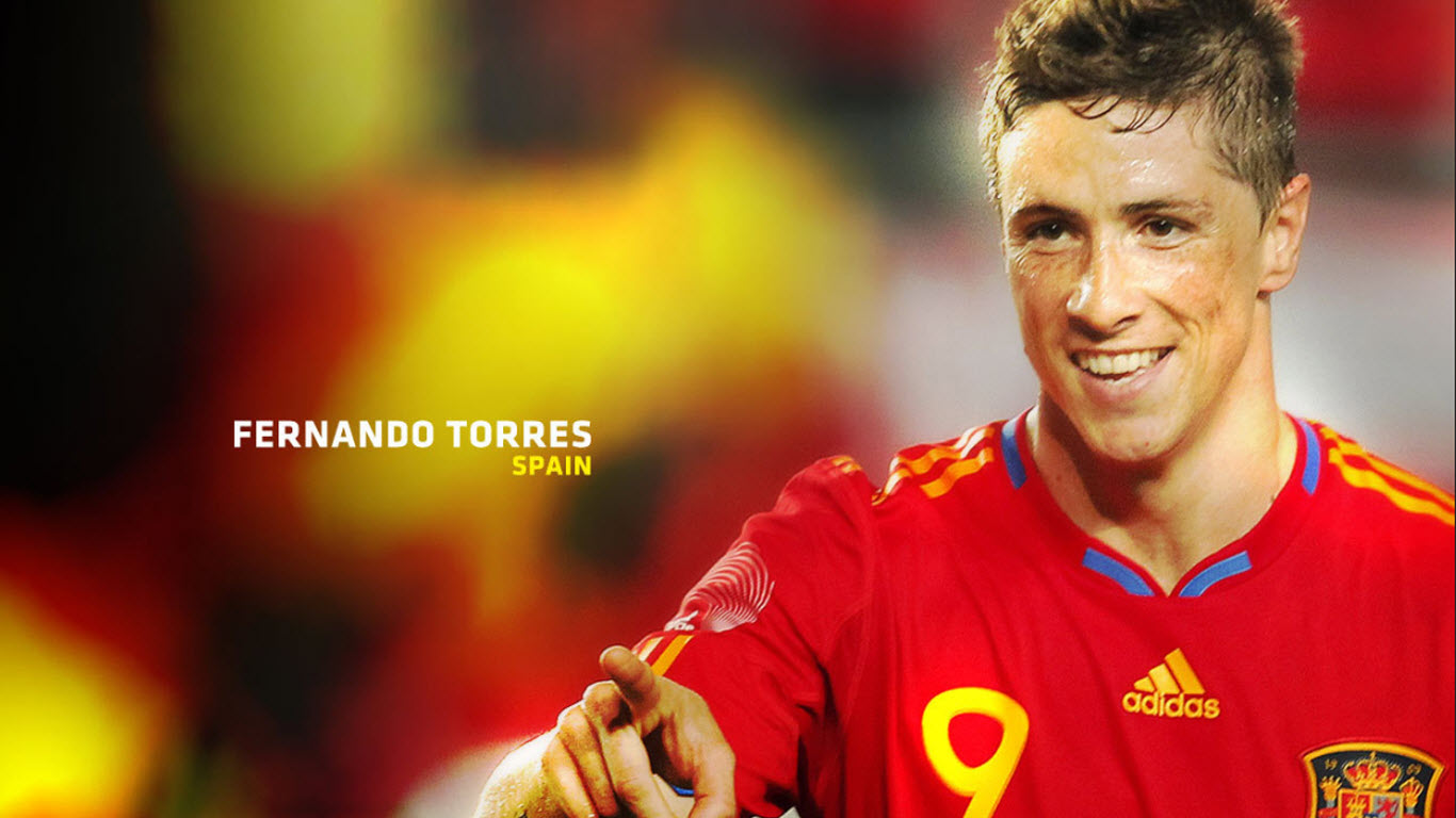 Hot Babes Single Fernando Torres Latest HD Wallpapers 1366x768
