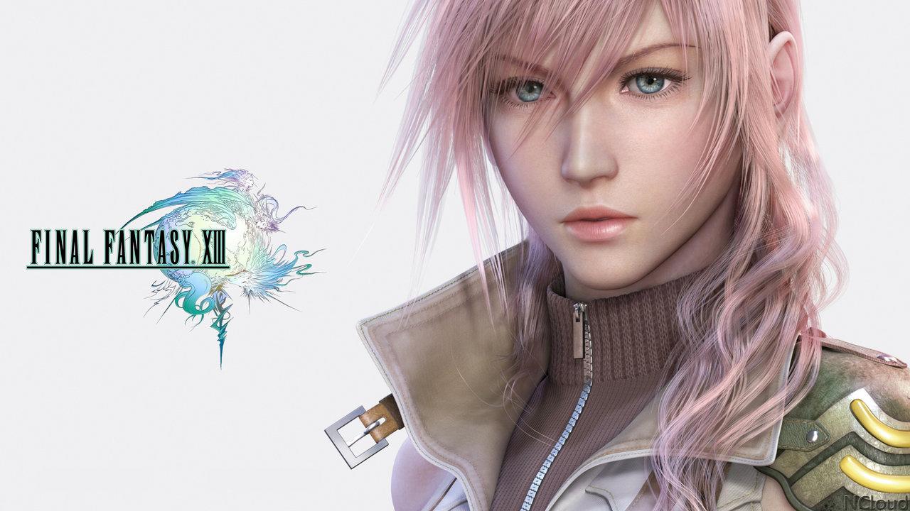 Free Download Download Final Fantasy Xiii Ps3 Lightning Wallpaper