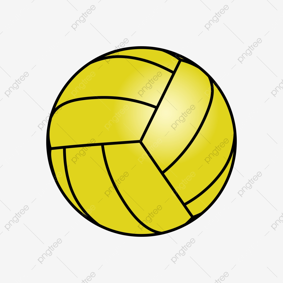 Volley Ball Vector Png Transparent Background Sports Balls 1200x1200