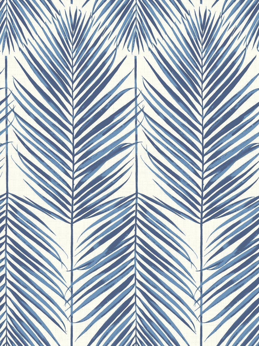 Paradise Wallpaper in Coastal Blue from the Beach House Collection 1000x1333