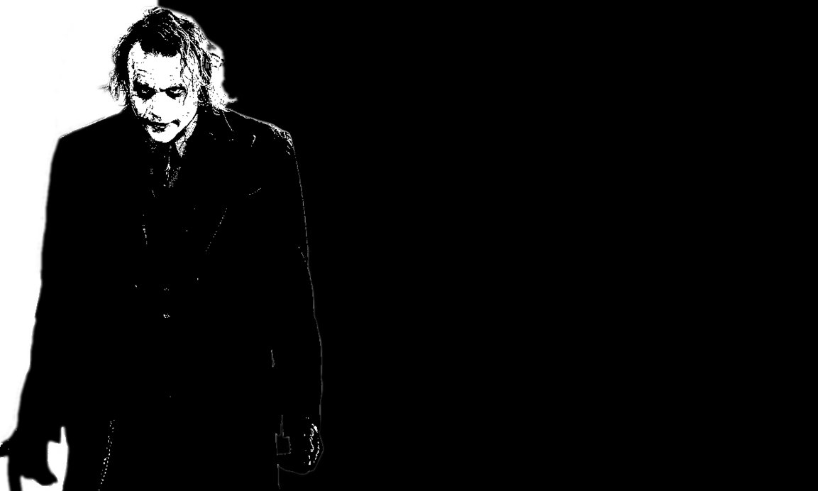 The Joker The Dark Knight Wallpaper by Niall Larner 1153x692