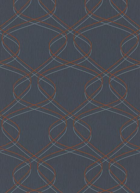 Orange Sceno Wallpaper  Sample   Contemporary   Wallpaper   by 464x640