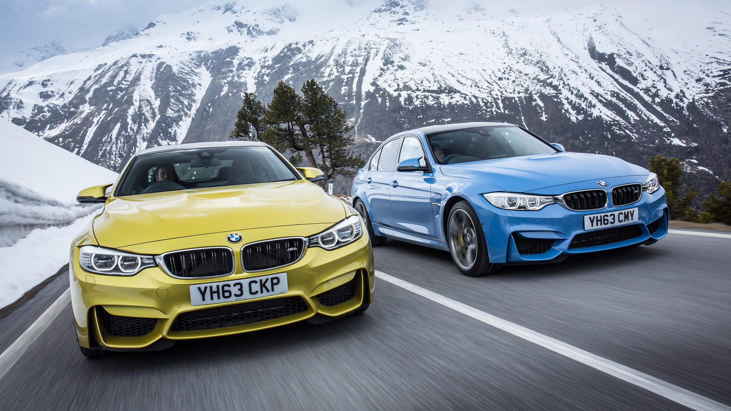 2014 BMW M4 Coupe UK Wallpaper HD Car Wallpapers 2560x1440