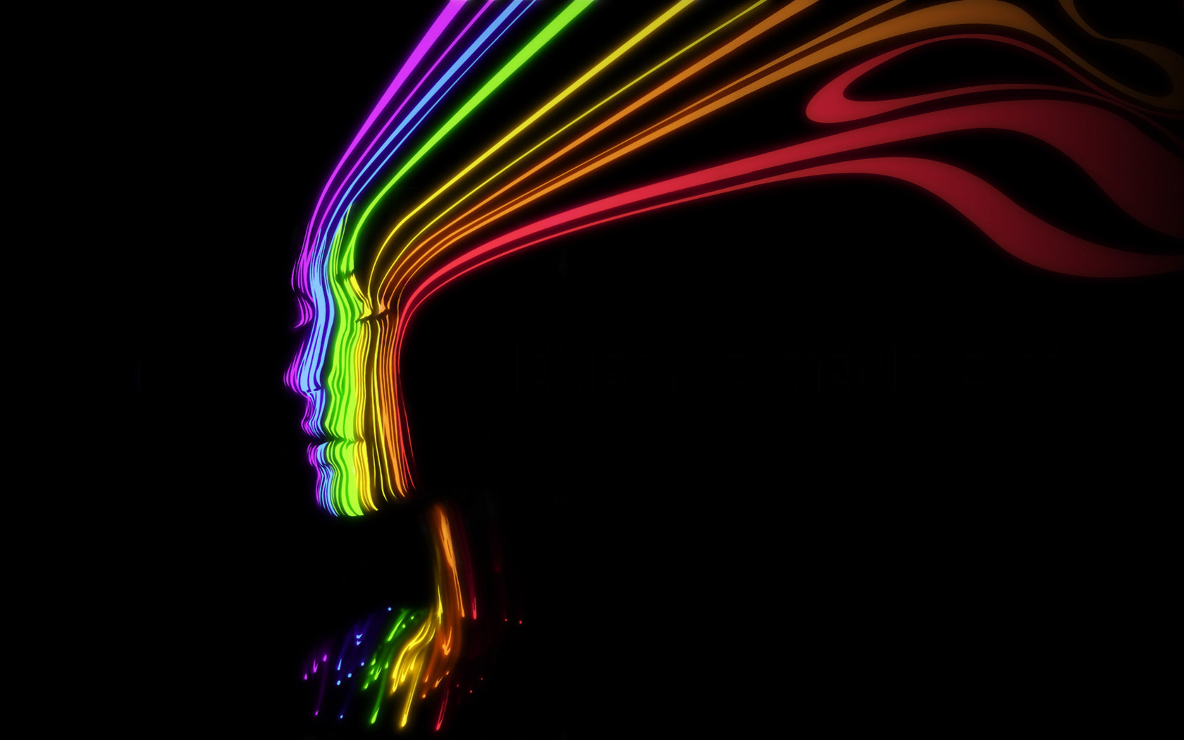 Trippy Twitter Backgrounds 1680x1050