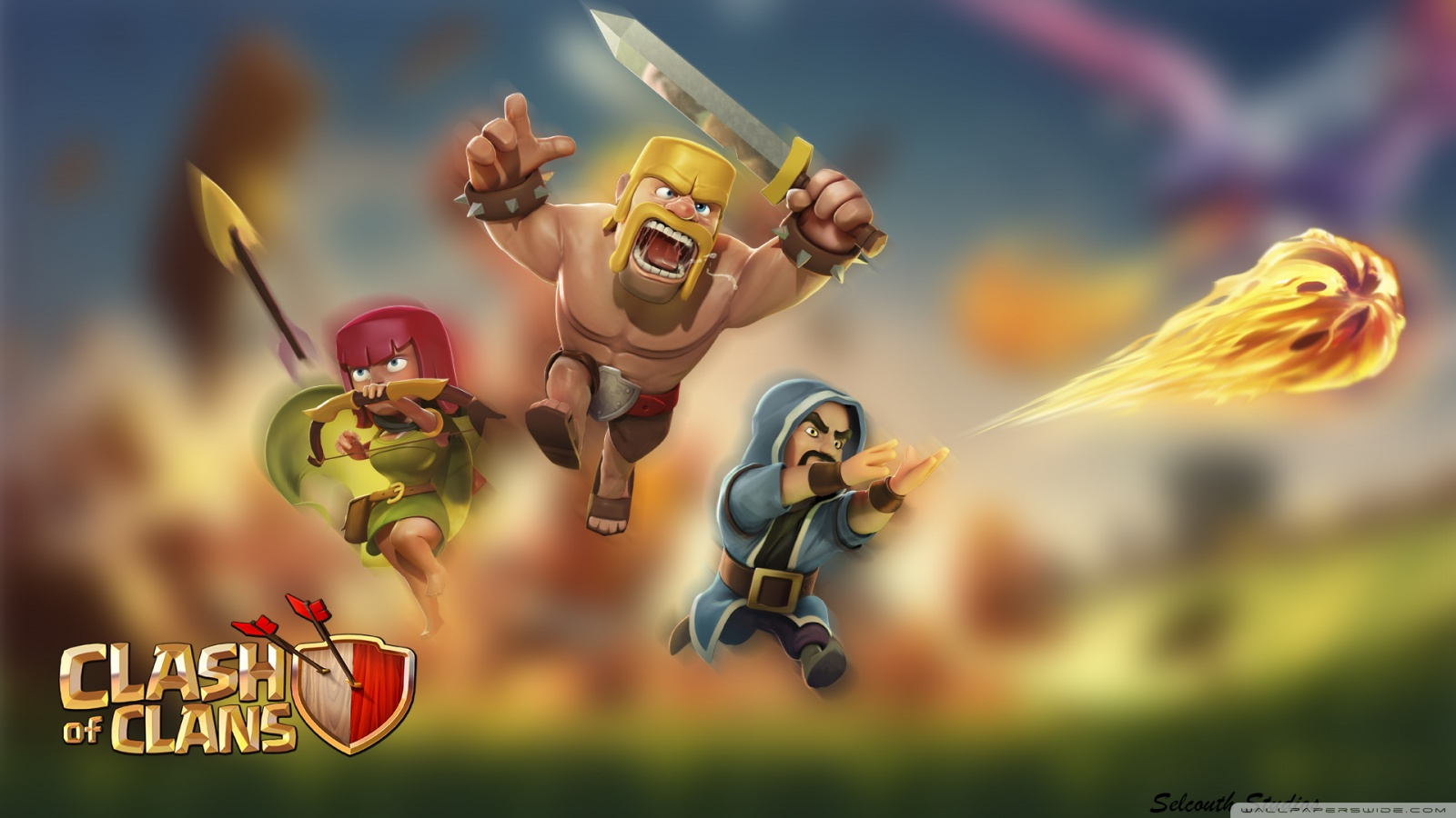 Clash of Clans phone wallpaper by roryfg29 1600x900