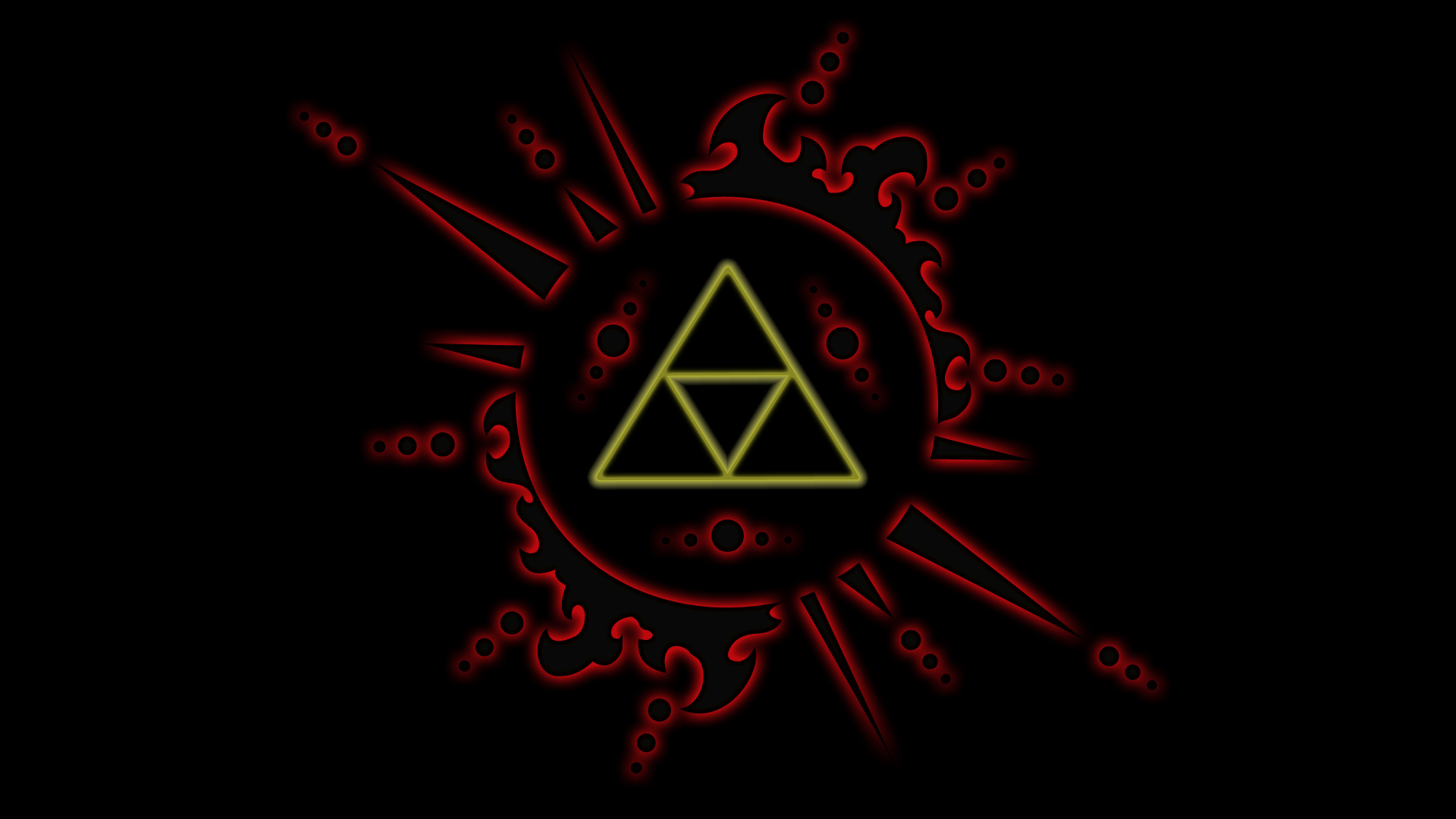 Hd wallpaper zelda - Triforce The Wallpaper 1920x1080 Triforce The Legend Of Zelda