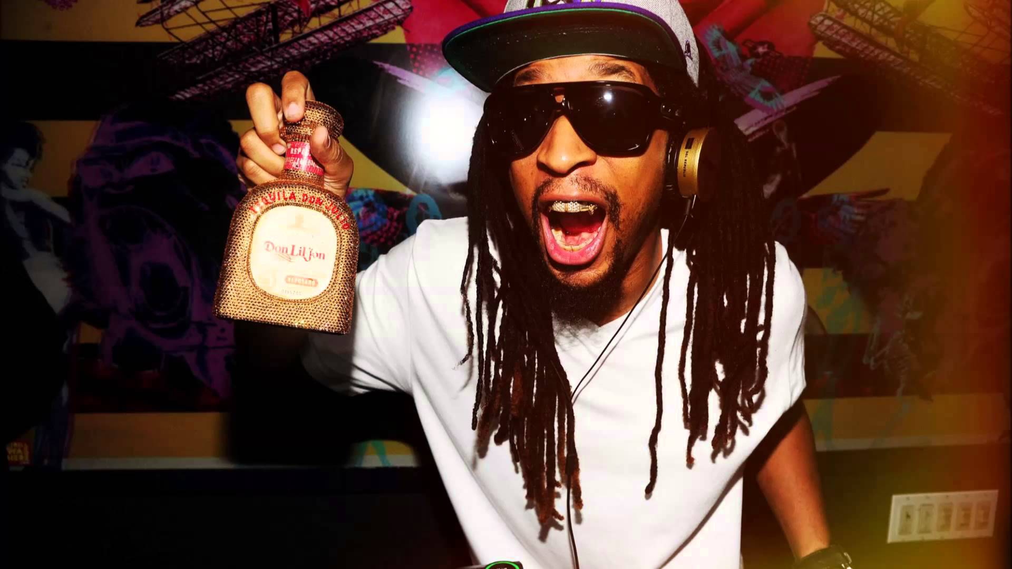 Download Wallpaper 3840x2160 Lil jon Rapper Gangster 3840x2160