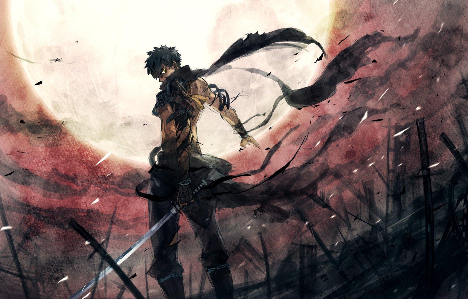 Anime warrior wallpaper wallpapersafari - Anime war wallpaper ...